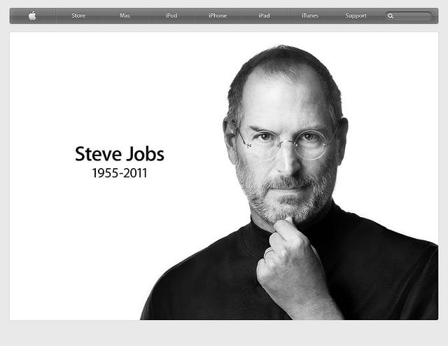 史提夫賈伯斯 Steve Jobs (1955 – 2011) 改變了世界