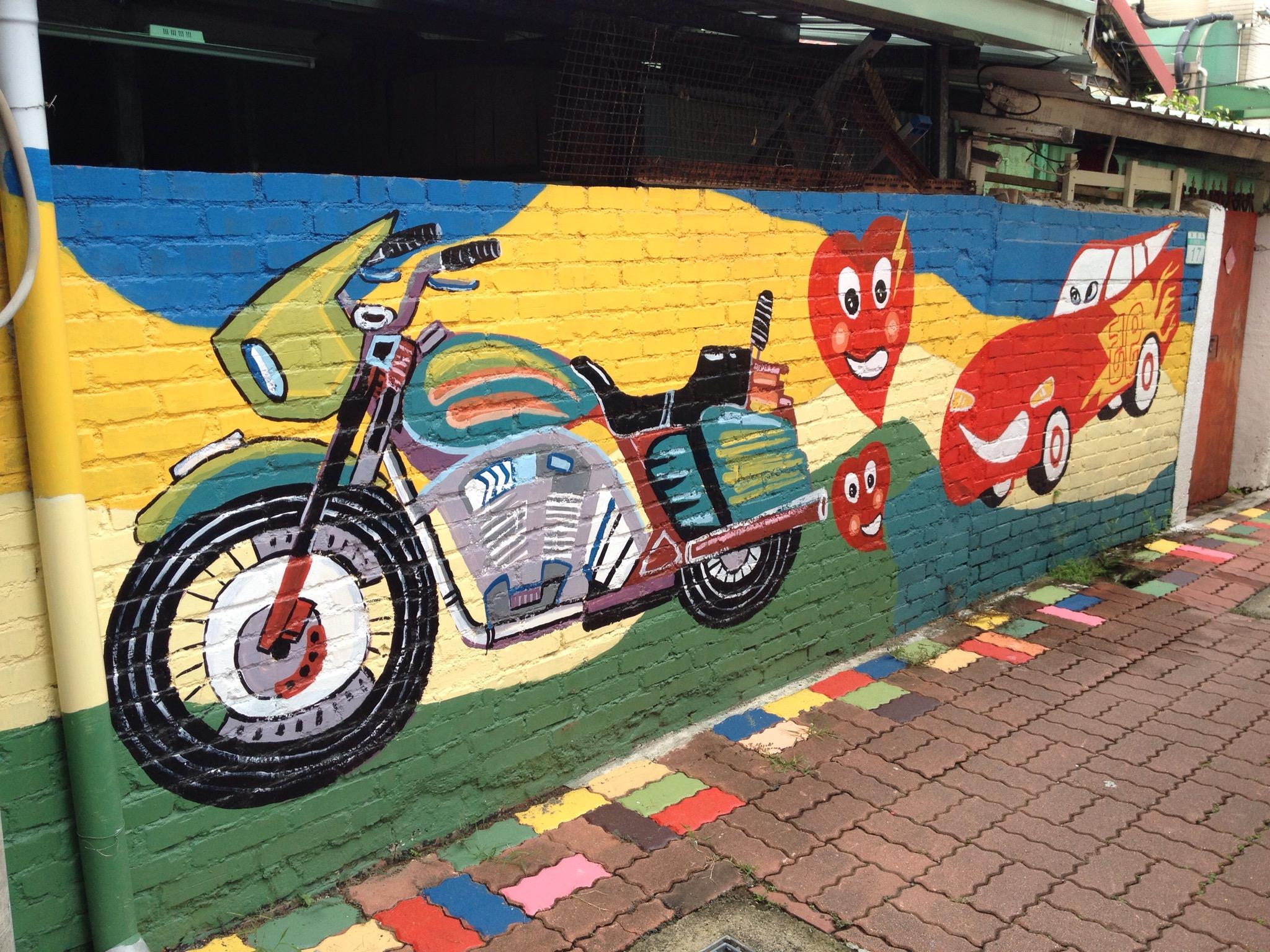 台南市區塗鴉牆壁畫地點介紹(二)