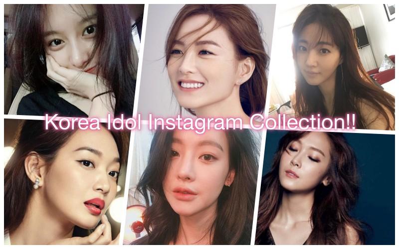 韓國女明星的 instagram 帳號